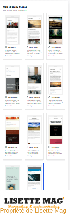 AMP for WordPress - 4e page de configuration Onbording
