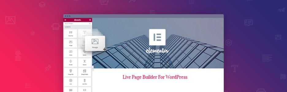 Landing page sur WordPress, Elementor Page Builder,