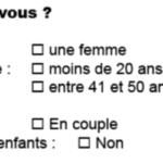 Comment faire l'introduction du questionnaire ?