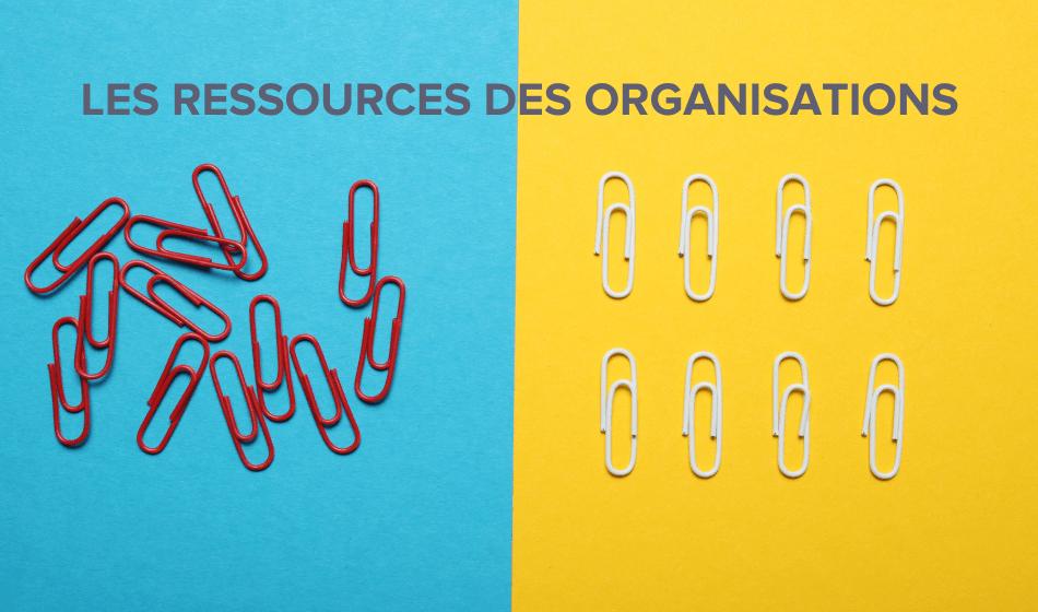 Les ressources de l'organisation