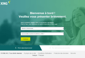 Xing : objectif personnel