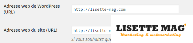 Comment modifier l'adresse web d'un site WordPress ?