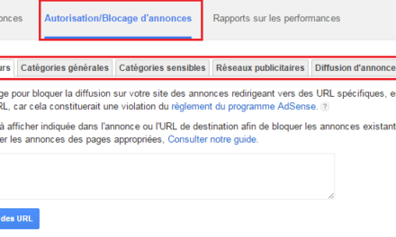 Comment bloquer des annonces Adsense sur son site ?