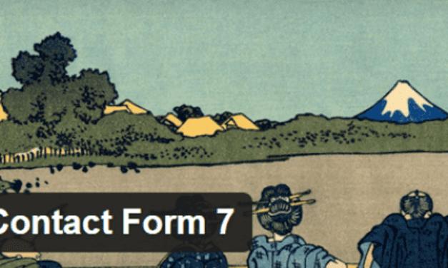 Contact Form 7 configuration simple : Tutoriel WordPress