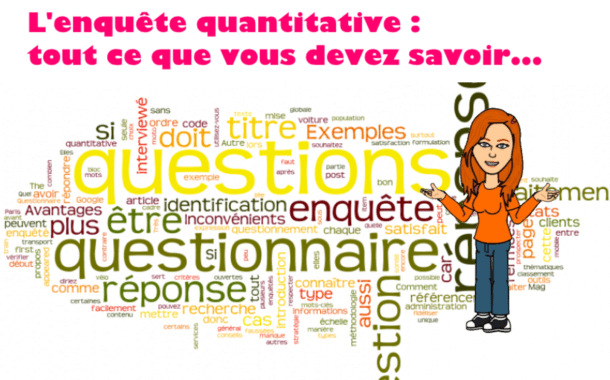 Questionnaire d'enquête quantitative : les types de question