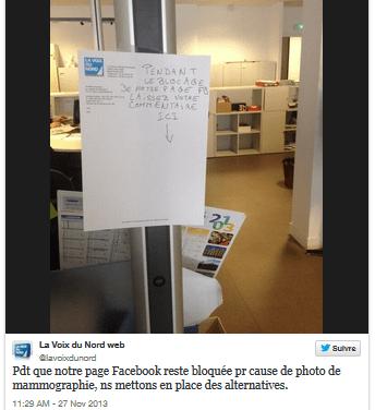 La moralité de Facebook gérée par un algorithme