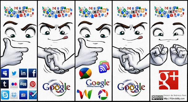 Evolution de Google+