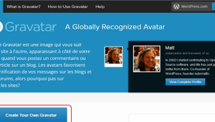 Comment modifier son Gravatar (avatar WordPress) ?