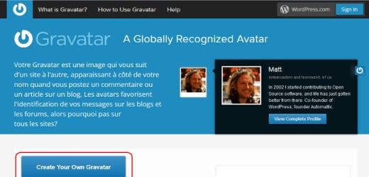 Comment modifier son Gravatar (avatar WordPress) ?