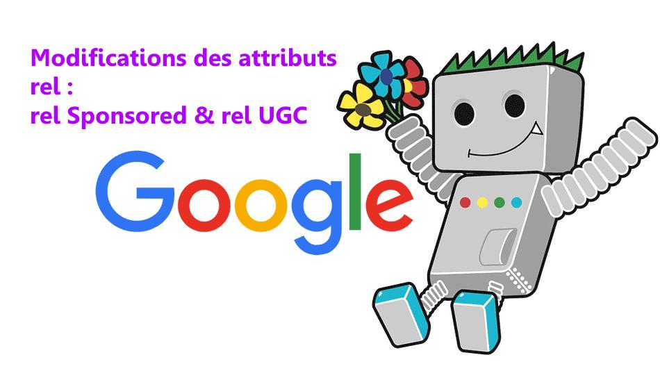 Sponsored et UGC : nouveaux attributs rel