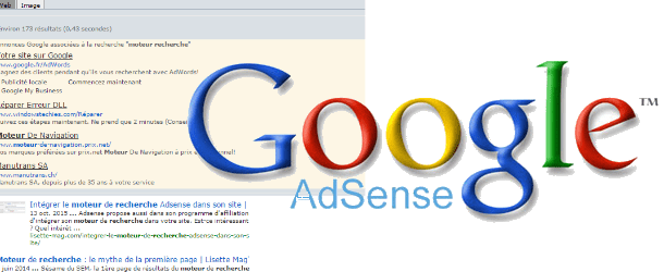 Intégrer le moteur de recherche Adsense dans son site