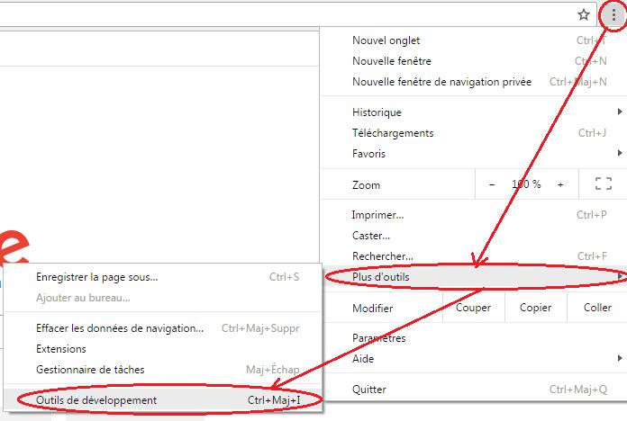 Les outils de développement Google Search