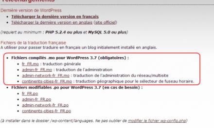 Tutoriel : comment convertir WordPress en français ?
