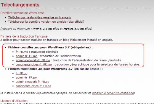 Tutoriel : comment convertir WordPress en version française ?