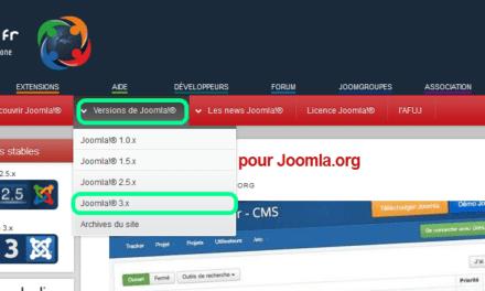 système Joomla : logs, session et cache