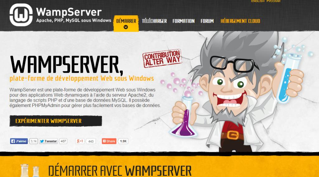 Télécharger Wampserver sur son site
