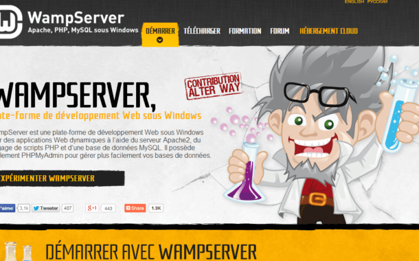 Installer le serveur local WampServer