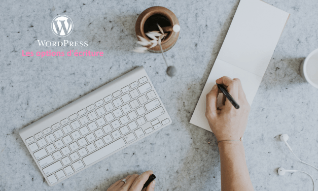 Options écriture WordPress : à quoi ça sert ?