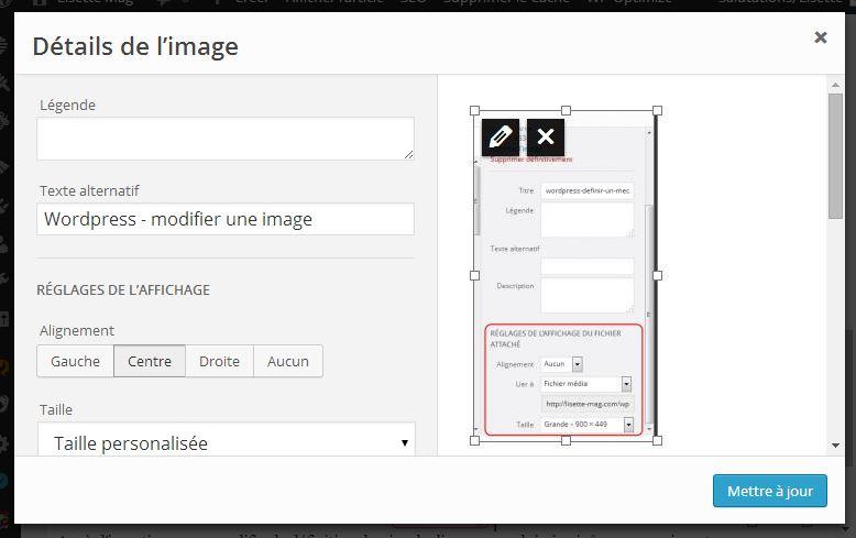 Wordpress - insérer une image