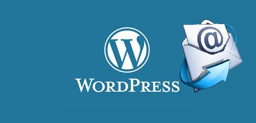 Comment modifier l'auteur du mail WordPress?