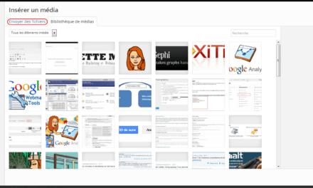 La gestion des médias dans WordPress